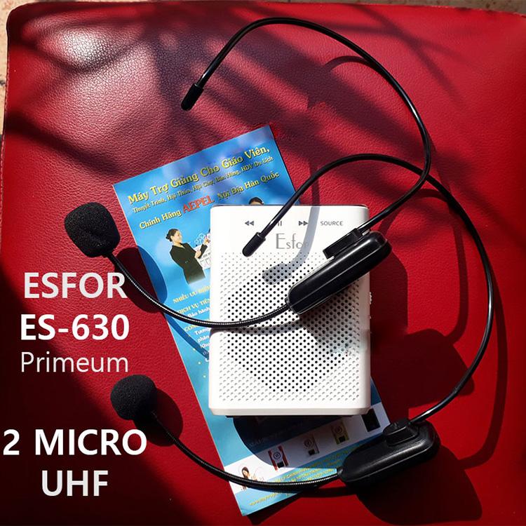 Esfor ES-630 2 Mic